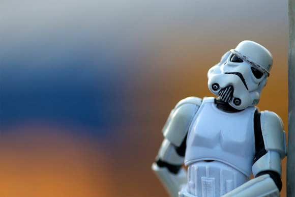 Stormtrooper Waiting